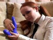 Halo is horny redhead babe who loves blowjobs